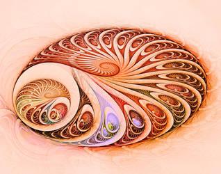 Spirals in spirals in spirals by titiavanbeugen