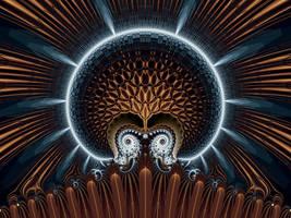 Alien Brain by titiavanbeugen