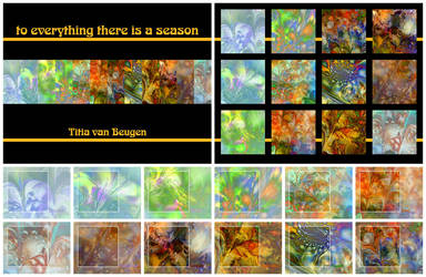 Season Fractal Calendar 2010 by titiavanbeugen