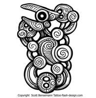 maori pattern by spunkymonkey