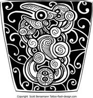 maori sleeve design1 by spunkymonkey