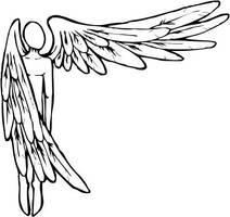 outstreched angel by spunkymonkey