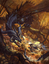 Dragon's Lair by RalphHorsley