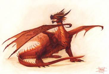 Fire Dragon by RalphHorsley