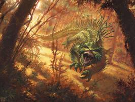 Bloodspore Thrinax by RalphHorsley