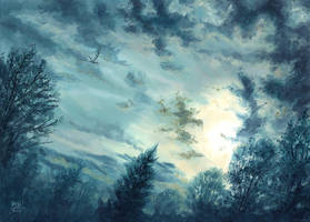 Dusk by RalphHorsley