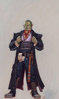 Orc bouncer by RalphHorsley