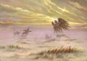 Mistveil Plains by RalphHorsley