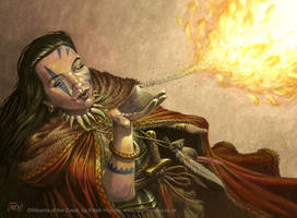 Martyr of Ashes by RalphHorsley