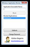 Windows Application Blocker by Kishan-Bagaria