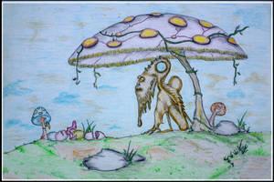 shroom man by sahas-hegde