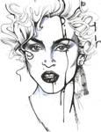 Madonna Sketch by NickUnlimited