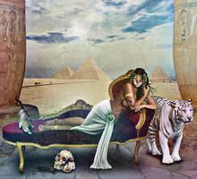 The Cat Goddess by seekfelicity