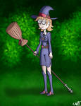 A little witch in the woods... by theCAZTman