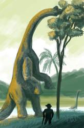 Dino Speedpaint1 by Kalilak11