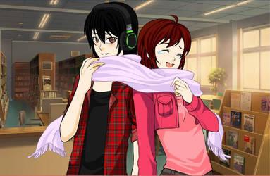 Manga valentin game by Emillike