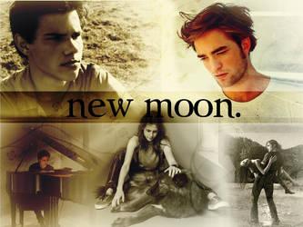 New Moon Wallpaper by emmahhxx