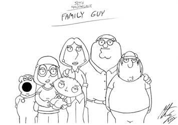 Seth MacFarlane - Family Guy by MortenEng21