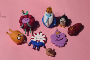 Adventure time - Polymer clay by Moonacat