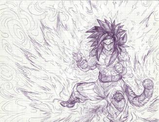 Goku by T-R-L