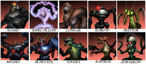 Monster's of War by GodzillaKing