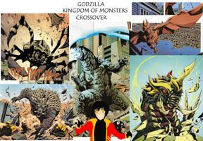 Godzilla KoM Title by GodzillaKing