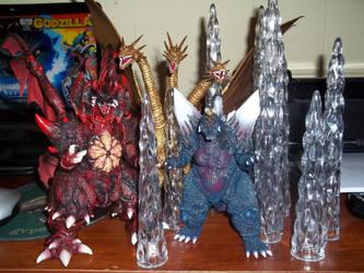 The Bad 3 by GodzillaKing