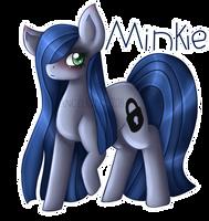 Minkie Pie by AngelKitty1708