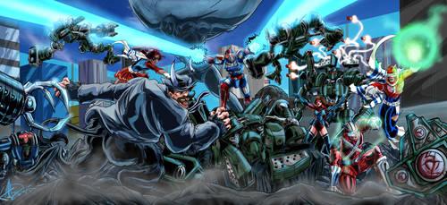 Battle in Atlas Park by War-Patriot