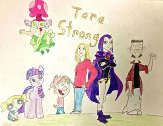 Tara Strong by BravoKrofski