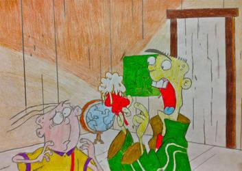 OH NO! My Brain Came Out! by BravoKrofski