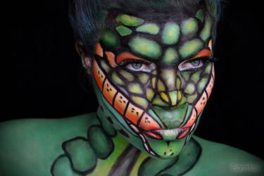 Snake girl.... by eamfos