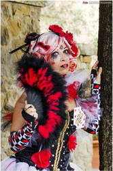 Steampunk Queen of Hearts - Original cosplay #4 by TwiSearcher85