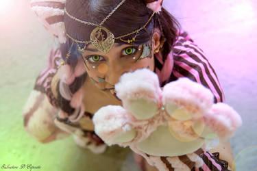 Steampunk Cheshire Cat - Original cosplay #2 by TwiSearcher85