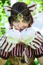 Steampunk Cheshire Cat - Original cosplay #3 by TwiSearcher85