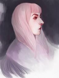A portrait by fyrkfyrk