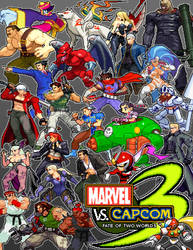 Marvel Vs Capcom 3: Fate of Two Worlds [CAPCOM] by steamboy33