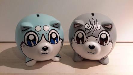 Ginga Piggy Banks by FuzzBird