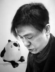 SiuHat and Panda by paullung