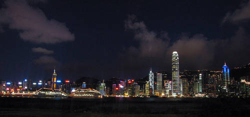 Hong Kong evening by paullung