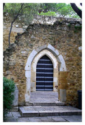 S.Jorge Castle Old Door by FilipaGrilo