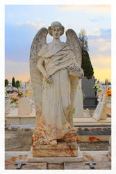 Old Grave I - Reguengos de Monsaraz Cemetery by FilipaGrilo