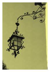 Vila Vicosa Old Lamp I by FilipaGrilo