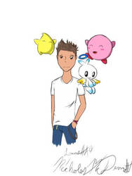 Logan and his new friends by lucas449
