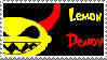 Lemon Demon Stamp by CazGirl