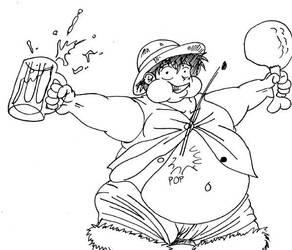 Lumpy Luffy by Keiji-Ino