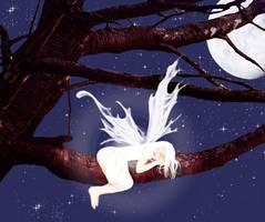 Sleeping Fairy by MsDramatic