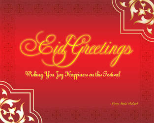 Eid Greetings by moizs