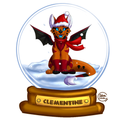 CommissionClementine-YCH Christmas S. by Makeda-TLK
