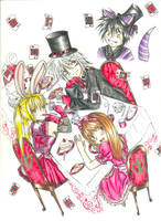 Mad Hatter's Tea Party by Nisai